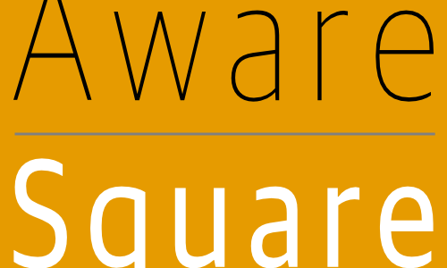 Aware Square Logo Square